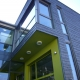 <strong>Umbau- und Erweiterung einer Anwaltskanzlei  </strong><br />Außenseitig in Anthrazitfarbener Sandstrukturfolie gestaltete Kunststoffprofile und Fenster teilweise in außenseitiger Lackierung in RAL-Farbe, Ton in Ton mit Fassaden- und Sonnenschutzfarbe, gestaltet.<br /><strong>Ort: <br /></strong>Mannheimer Str. 254a <br />55543 Bad Kreuznach     <br /><strong>Architekt:</strong>    <br />Frank Huber Dipl.-Ing. (FH) <br />                   Neugasse 3                    <br />55546 Volxheim     <br /><strong>Bauherr:</strong>      <br />Dr. Wolfgang Maus